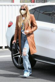Sofia Richie Seen in Ripped Denim Out in Hollywood 03/25/2021 4