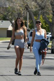 Victoria Justice and Madison Reed Together Workout in Los Angeles 03/24/2021 1
