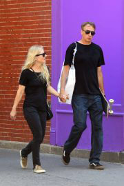 Catherine Goodman with her husband Tony Hawk Out and About in New York 06/30/2021 4