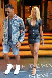 Ciara and Russell Wilson Leaves Peninsula Hotel in New York 06/30/2021 3