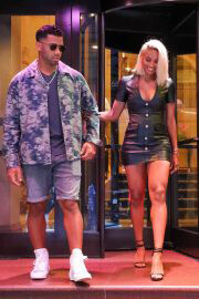 Ciara and Russell Wilson Leaves Peninsula Hotel in New York 06/30/2021 4