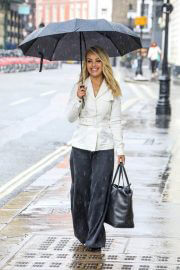 Katie Piper out in Rainy Weather in London 06/29/2021 3