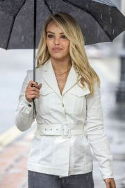 Katie Piper out in Rainy Weather in London 06/29/2021 4