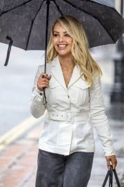 Katie Piper out in Rainy Weather in London 06/29/2021 6