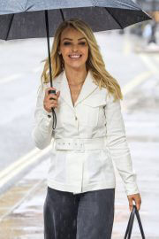 Katie Piper out in Rainy Weather in London 06/29/2021 7