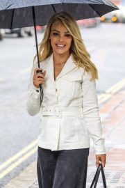 Katie Piper out in Rainy Weather in London 06/29/2021 9