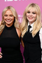 Natalie and Emily Alyn Lind attends Gossip Girl Premiere at Spring Studios in New York 06/30/2021 3