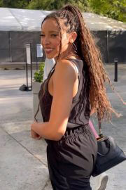 Tinashe Arrives at Clippers Game at Staples Center in Los Angeles 06/30/2021 6