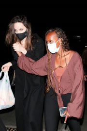 Angelina Jolie Leaves Ziggy Marley Concert at Hollywood Bowl 08/02/2021 1