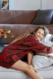 Behati Prinsloo and Adam Levine Cover Photoshoot in Architectural Digest Magazine, August 2021 3