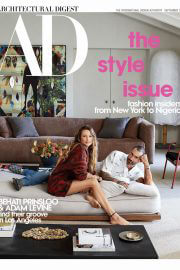 Behati Prinsloo and Adam Levine Cover Photoshoot in Architectural Digest Magazine, August 2021 4