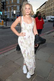Ciara Charteris arrives Van Gogh Immersive Experience Private View in London 08/03/2021 5