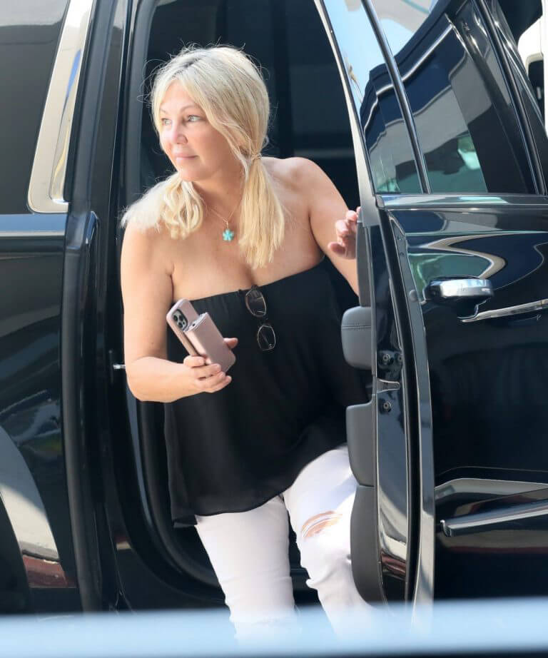 Heather Locklear arrives LAX Airport in Los Angeles 087/01/2021 1