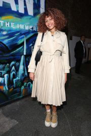 Izzy Bizu attends Van Gogh Immersive Experience Private View in London 08/03/2021 4