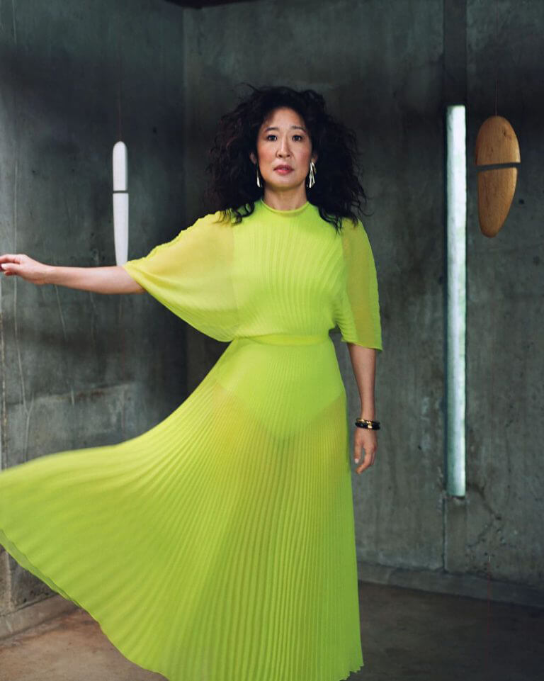 Sandra Oh Photoshoot for The Cut Magazine, July - August 2021 1