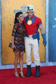 Shay Shariatzadeh and John Cena at The Suicide Squad Premiere in Westwood 08/20/2021 6
