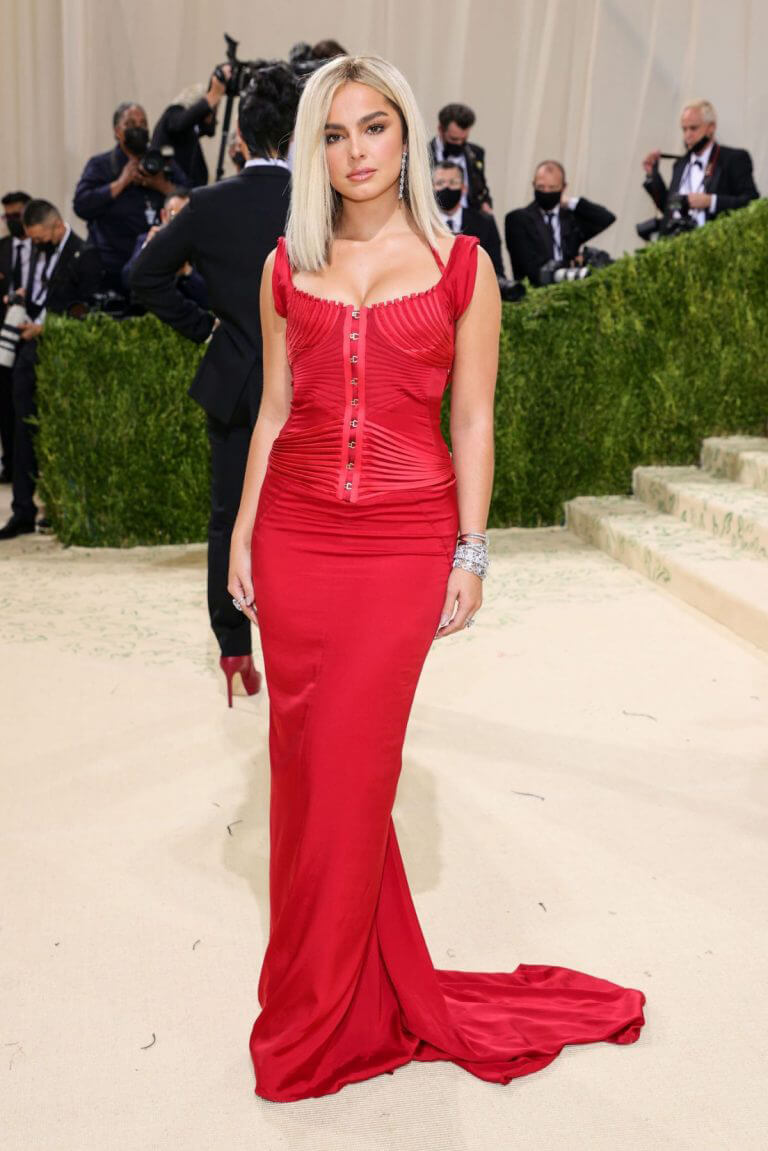 Addison Rae At Her Very First Met Gala in New York 09/13/2021 9