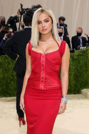Addison Rae At Her Very First Met Gala in New York 09/13/2021 10
