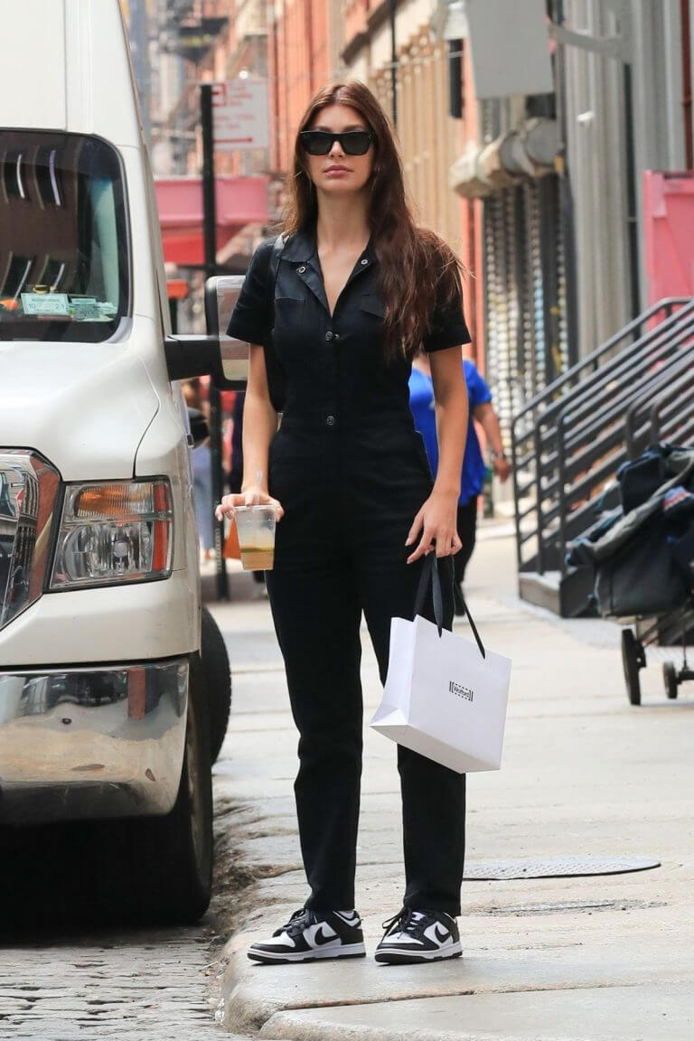 Camila Morrone Steps Out in New York 09/13/2021 6