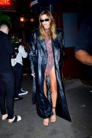 Hailey Bieber Night Out for Dinner at Carbone in New York 09/14/2021 2