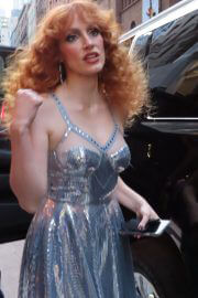 Jessica Chastain Heading to Forgiven Premiere at SVA, New York 09/14/2021 5