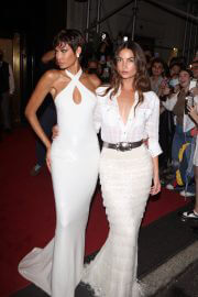 Joan Smalls and Lily Aldridge Heading to Met Gala in New York 09/13/2021 6
