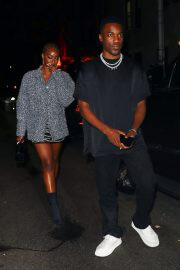 Justine Skye and Giveon Seen at Carbone in New York 09/14/2021 4
