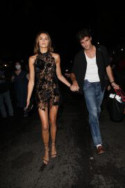 Kaia Gerber with Boyfriend Jacob Elordi Heading for Met Gala 2021 After Party 4