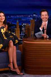 """Kendall Jenner Appears On """"The Tonight Show'' Starring Jimmy Fallon 09/14/2021 4"""