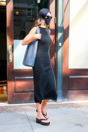 Kendall Jenner Looks Stylish in Black Dress as She is Out in New York 09/13/2021 3