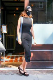 Kendall Jenner Looks Stylish in Black Dress as She is Out in New York 09/13/2021 5