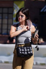 Lucy Hale Heading to a Skincare Clinic in Studio City 09/14/2021 10