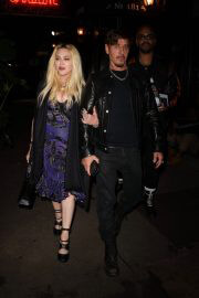 Madonna Leaves Scooter Braun's Private Dinner Party at Carbone 09/14/2021 1
