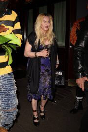Madonna Leaves Scooter Braun's Private Dinner Party at Carbone 09/14/2021 3