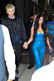 Megan Fox and Machine Gun Kelly Steps Out in New York 09/14/2021 5