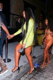 Megan Thee Stallion Attends Rihanna's Met Gala After-Party in New York 09/14/2021 5