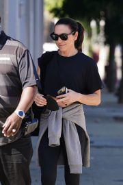Melanie C at Dancing With The Stars Rehearsal Studio in Los Angeles 09/14/2021 4