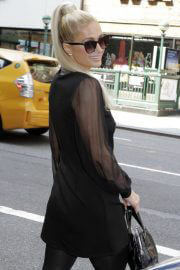 Paris Hilton Day Out in New York 09/14/2021 1