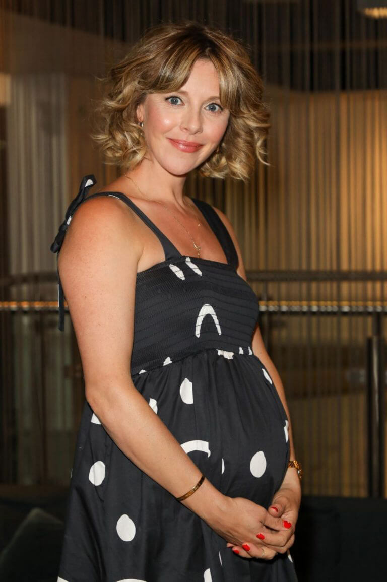 Pregnant Sophia Di Martino Attends Sweetheart BFI Preview at BFI Southbank in London 09/13/2021 12