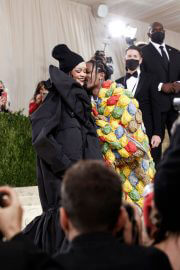 Rihanna and ASAP Rocky Attends 2021 Met Gala in New York 09/13/2021 6
