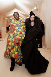 Rihanna and ASAP Rocky Attends 2021 Met Gala in New York 09/13/2021 10