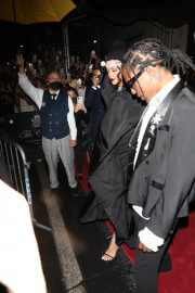 Rihanna and Asap Rocky Heading to Met Gala in New York 09/13/2021 1