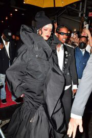 Rihanna and Asap Rocky Heading to Met Gala in New York 09/13/2021 6