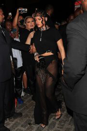 Rihanna Arrives at Her Met Gala After-Party in New York 09/13/2021 1