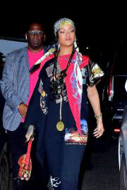 Rihanna Leaves Carbone in New York 09/14/2021 6