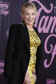 Sharon Stone Attends The Eyes Of Tammy Faye Premiere in New York 09/14/2021 4
