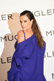 Alessandra Ambrosio at Thierry Mugler - Couturissime Exhibition Opening Ceremony in Paris 09/28/2021 2