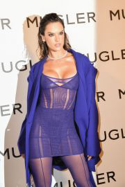 Alessandra Ambrosio at Thierry Mugler - Couturissime Exhibition Opening Ceremony in Paris 09/28/2021 6