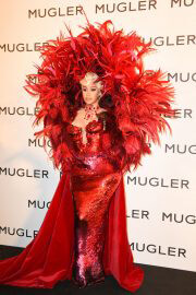 Cardi B at Thierry Mugler: Couturissime Exhibition Opening Ceremony in Paris 09/28/2021 6