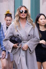 Chrissy Teigen and John Legend Day Out in New York 09/27/2021 1